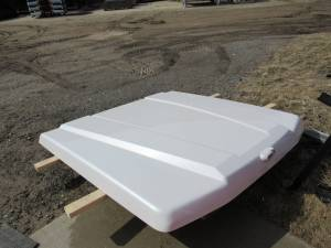 Used 15-C Ford F-150 5.5ft Bed White Platinum ARE LSX Series Tonneau Lid