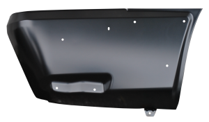 Key Parts - 02-06 Chevy Avalanche, w/Cladding, Rear Lower Quarter Panel, RH Passenger's Side