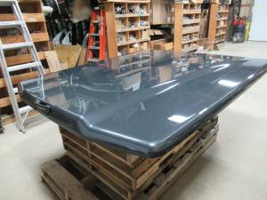 Used 15-18 Ford F-150 6.5ft Short Bed Guard Effect Metallic Undercover Elite LX Truck Lid