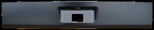 Key Parts - 00-06 Chevy Suburban/Tahoe GMC Yukon/Yukon XL Steel Rear Roll Pan w/ License Plate Spot