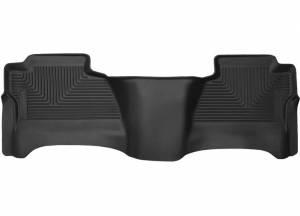 Husky Liners - 14-19 Chevy Silverado/GMC Sierra Husky 2nd Row Black Floor Liner