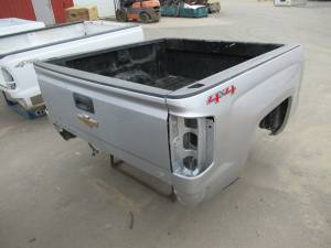 14-18 Chevy Silverado Silver 5.8ft Short Truck Bed