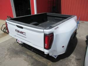 New 20-C GMC Sierra 3500 8ft White Dually Long Truck Bed
