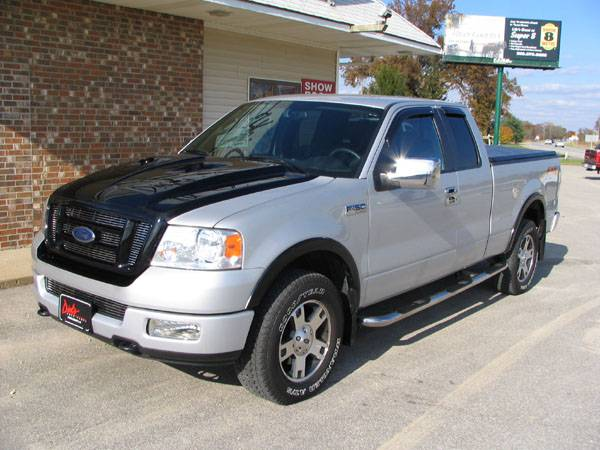 F150 Truck Bed Replacement >> Photo Gallery - 04-08 Ford F-150 Trucks - 05 Ford F150 Super Cab with Reflexxion Cobra Hood ...