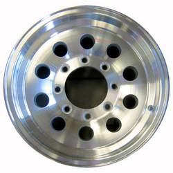 16 in. 8-Lug 10 Hole Mod Aluminum Trailer Wheel
