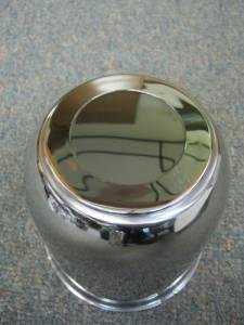 15 in. 16 in. 6 Lug Trailer Wheel Stainless Steel Medium Trailer Center Cap