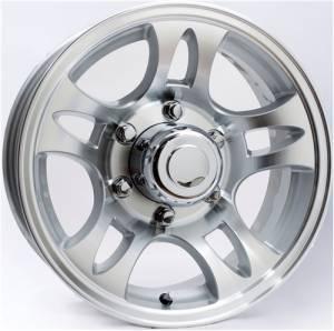 15 in. 6 Lug 10 Star Split Spoke Aluminum Trailer Wheel