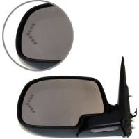 Mirrors - Chevy - Kool Vue - 03-06 CHEVY AVALANCHE w/BODY CLADDING 1500/2500 MIRROR LH, Pwr-Htd, w/ Dimmer & Signal on Glass, Power Folding, w/ Pai