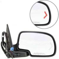 Mirrors - Chevy - Kool Vue - 03-06 CHEVY AVALANCHE MIRROR w/Body Cladding RH, Textured/Smooth, Power, Heated, w/ Memory, Power Folding, w/ Signal on Gl