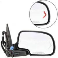 Mirrors - Chevy - Kool Vue - 03-06 CHEVY AVALANCHE MIRROR w/Body Cladding RH, Textured/Smooth, Power, Heated, w/ Memory, Power Folding, w/ Signal on Gl