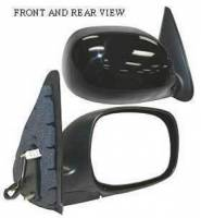 Mirrors - Toyota - Kool Vue - 01-04 TOYOTA SEQUOIA MIRROR RH, Power, Heated, Foldable, Primed-Black