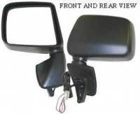 Mirrors - Lexus - Kool Vue - 99-00 LEXUS RX300 MIRROR LH, Power, Heated, w/o Auto Dimming
