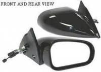 Mirrors - Mitsubishi - Kool Vue - 95-99 MITSUBISHI ECLIPSE RH, Manual Remote