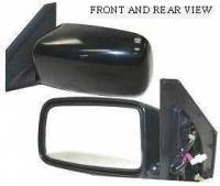 Mirrors - Mitsubishi - Kool Vue - 02-05 MITSUBISHI LANCER MIRROR LH, Power, Foldable-Black, ES Model, Sedan