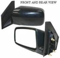 Mirrors - Mitsubishi - Kool Vue - 04-05 MITSUBISHI LANCER MIRROR LH, Manual, Foldable-Black, ES Model, Sedan