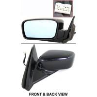 Mirrors - Acura - Kool Vue - 04-05 Acura TL MIRROR LH, Power, w/ Heated & Memory, Nighthawk Black (Code B92P)