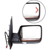 Mirrors - Lincoln - Kool Vue - 11-13 LINCOLN NAVIGATOR MIRROR RH, Power, Heated, Power Folding, Smooth Black, Paint to Match, w/ Memory, w/