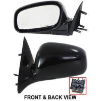 04-08 LINCOLN TOWN CAR MIRROR LH, w/o Memory, 6 Wire Connector