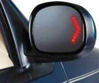 Mirrors - Ford - Kool Vue - 97-99 FORD EXPEDITION MIRROR RH, Power, Non-heated, w/Signal in Glass, Black Cap