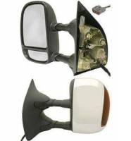 Mirrors - Ford - Kool Vue - 03-06 FORD F250/F350 SUPER DUTY MIRROR LH, Power Heated w/ Signal, Chrome