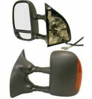 Mirrors - Ford - Kool Vue - 03-06 FORD F250/F350 SUPER DUTY MIRROR LH, Power Heated w/ Signal, Textured