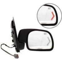 Mirrors - Ford - Kool Vue - 01-05 FORD EXCURSION MIRROR RH, Power, Heated, Manual Folding, Textured, w/ Signal Glass
