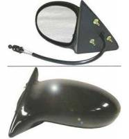 Mirrors - Pontiac - Kool Vue - 02-05 PONTIAC GRAND AM MIRROR LH, Manual, Paint to match