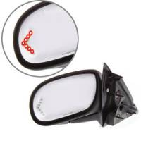Mirrors - Buick - Kool Vue - 03-05 BUICK PARK AVENUE MIRROR LH, Power, Heated, Manual Folding, Paint to Match, w/ Signal Glass