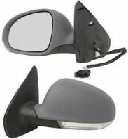 Mirrors - VW - Kool Vue - 99-05 VOLKSWAGON JETTA MIRROR LH, Power, Heated, w/ Signal Light on Housing, Manual Folding