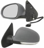 Mirrors - VW - Kool Vue - 99-05 VOLKSWAGON JETTA MIRROR LH, Power, Heated, w/ Signal Light on Housing, Manual Folding