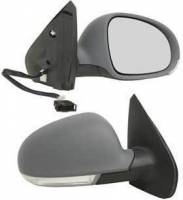 Mirrors - VW - Kool Vue - 99-05 VOLKSWAGON JETTA MIRROR RH, Power, Heated, w/ Signal Light on Housing, Manual Folding