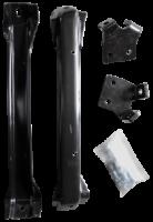 Key Parts Classic Truck Bumpers - Chevy/GMC - Key Parts - 58-59 Chevrolet/GMC C-10 Front Bumper Bracket Kit 4PC