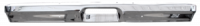 Key Parts Classic Truck Bumpers - Ford - Key Parts - 78-79 Ford Bronco Front Bumper w/License Plate w/Pad