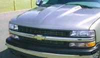 Reflexxion Cowl Induction Hoods - Reflexxion Chevy & GMC Truck Cowl Induction Hoods - Reflexxion - 99-02 Chevrolet Silverado 1500 & 2500/3500 HD (New Body Style) Reflexxion Steel Cowl Induction Hood #702600