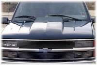 Reflexxion Cowl Induction Hoods - Reflexxion Chevy & GMC Truck Cowl Induction Hoods - Reflexxion - 92-99 Chevrolet GMC Suburban & 95-99 Chevy Tahoe GMC Yukon Reflexxion Steel Cowl Induction Hood #701600