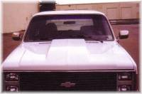 Reflexxion Cowl Induction Hoods - Reflexxion Chevy & GMC Truck Cowl Induction Hoods - Reflexxion - 88-91 Chevy GMC Suburban Reflexxion Steel Cowl Induction Hood #704600