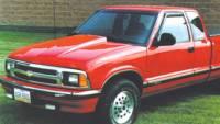 Reflexxion Cowl Induction Hoods - Reflexxion Chevy & GMC Truck Cowl Induction Hoods - Reflexxion - 94-03 Chevy S-10 GMC Sonoma Truck 95-04 JIMMY/BLAZER/BRAVADA Reflexxion Steel Cowl Induction Hood #701650