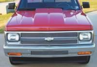 Reflexxion Cowl Induction Hoods - Reflexxion Chevy & GMC Truck Cowl Induction Hoods - Reflexxion - 82-93 Chevy S-10 GMC S-15 Truck Reflexxion Steel Cowl Induction Hood #702650