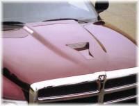 Reflexxion Cowl Induction Hoods - Reflexxion Dodge Truck Cowl Induction Hoods - Reflexxion - 94-01 Dodge Ram 1500, 94-02 Dodge Ram 2500 3500 Truck Reflexxion Steel Viper Style Cowl Induction Hood #701801
