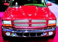Reflexxion Cowl Induction Hoods - Reflexxion Dodge Truck Cowl Induction Hoods - Reflexxion - 97-04 Dodge Dakota & 98-03 Dodge Durango Reflexxion Steel Cowl Induction Hood #701840