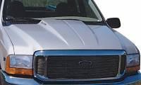 99-07 Ford F-250 F-350 Superduty Truck Reflexxion Steel Cowl Induction Hood #703700