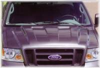04-08 Ford F-150 Truck Reflexxion Steel Cowl Induction Hood #705700