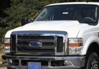 08-10 Ford F-250 F-350 Superduty Truck Reflexxion Steel Cowl Induction Hood #706700