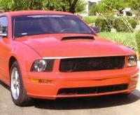 Reflexxion - 05-09 Ford Mustang Reflexxion Steel Ram Air Cowl Induction Hood #721710 - Image 3