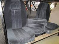 DAP - 73-79 Ford Full Size Truck C-200 Black Cloth Triway Seat - Image 2
