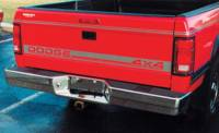 Reflexxion Rear Step Bumpers - Dodge - Reflexxion - 87-96 Dodge Dakota Reflexxion Chrome Step Bumper
