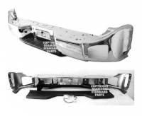04-07 Armada w/o Sensor Holes Reflexxion Chrome Step Bumper