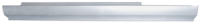 Rocker Panels - Chevy - Key Parts - 05-09 Chevy Cobalt/Pontiac G5 2 Door LH Drivers Side Rocker Panel