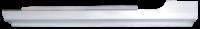 Rocker Panels - Dodge - Key Parts - 87-94 Dodge Shadow 2 Door Slip On LH Drivers Side Rocker Panel