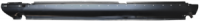 Rocker Panels - Mercedes - Key Parts - 68-75 Mercedes 114/115, 200/280 LH Drivers Side Rocker Panel